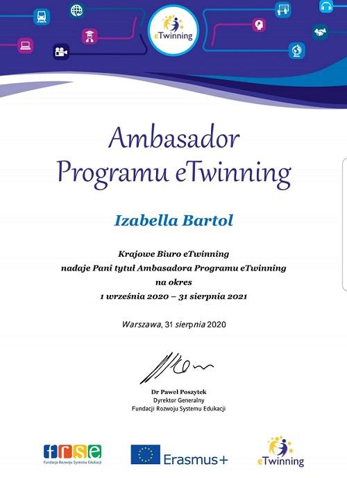 Ambasador eTwinning